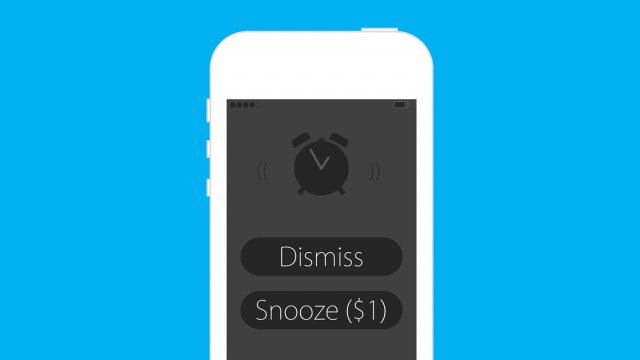 unsnooze an alarm clock app that charges you money every time you hit snooze. Black Bedroom Furniture Sets. Home Design Ideas