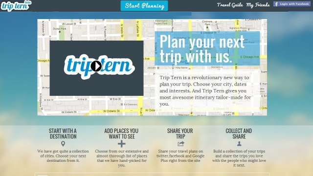 Trip Tern An algorithm based automatic trip planner – Site That Plans Trip For You